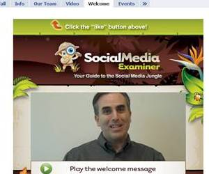 Social Media Examiner screen shot